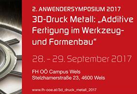 2. Anwendersymposium 3D-Druck Metall