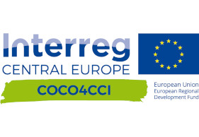 Logo Interreg Central Europe Projekt COCO4CCI