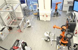"""""""Digitale Fabrik"""" an der Fachhochschule Technikum Wien"""