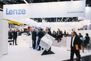 Lenze zeigt auf der Hannover Messe konkrete Industrie 4.0 Anwendungen.