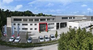 Der Hauptsitz von Anger Machining in Traun, Österreich. Foto Anger Machining GmbH