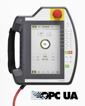 Das KeTop T70 bietet nun OPC UA-Kompatibilität. Foto KEBA AG