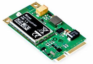 rapidM2M M220 wird eine 32Bit ARM Cortex-M3 MCU verwendet